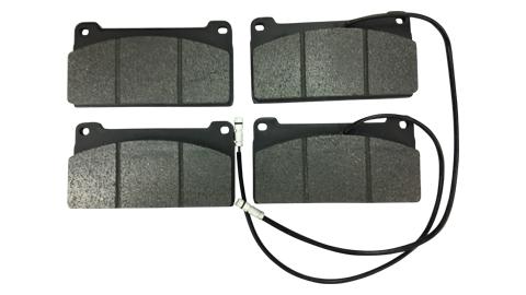 4x Bremsbeläge Bremsbelagsatz Hinten